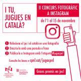 """El concurs fotogràfic """"I tu, jugues en català?"""" premia l'originalitat"""