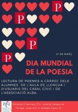 Dia Mundia de la Poesia a Tàrrega