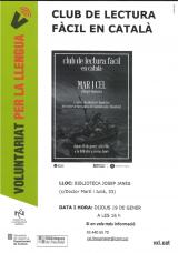 Club de lectura fàcil en català amb el VxL de l'Hospitalet