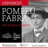 Exposició 'Pompeu Fabra, una llengua completa' al Pont de Suert