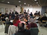 Presentació del VxL als participants dels tallers Aprenem a Cardedeu