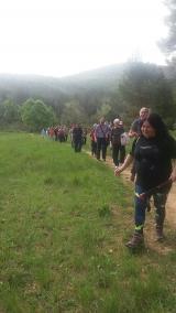 Caminada saludable a la barraca de pedra seca de la Penya Cabritera (Gavà-Begues)
