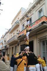 Castellers de Badalona, Pompeu Fabra i el CNL de Badalona i Sant Adrià