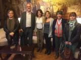 Un aprenent virtual suec que viu a Brussel·les visita el VxL d'Osona
