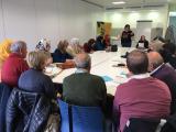 Un moment de la sessió de formació per a persones voluntàries