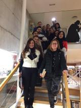 Els alumnes del nivell Bàsic visiten la Biblioteca de Salou