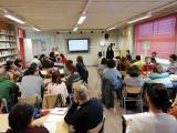 Sessió sobre novetats de la Gramàtica a l'IES Jonqueres
