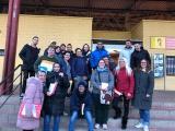 Pràctiques lingüístiques al Mercat Cobert de Roses amb els alumnes del curs Bàsic 1