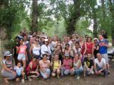 Caminada per les ribes del Ter per cloure els cursos i el Voluntariat per la llengua a Girona