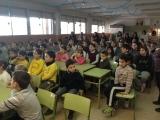 Presentacions multitudinàries del programa Voluntariat per la Llengua als centres educatius de Calonge