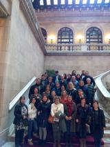 Visita guiada al Parlament de Catalunya per a l'alumnat i el voluntariat del SLC de Sant Boi