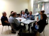 Sessió de maig de Llegir per parlar, llegir per aprendre del CNL de l'Hospitalet