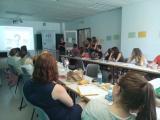 Presentació del VxL a alumnes de l'Escola d'Estiu Catalanoaustríaca