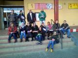 Pràctiques lingüístiques al Mercat Cobert de Roses amb els allumnes del curs Bàsic 1