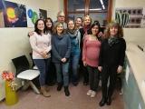 Alumnes de català participen en una tertúlia a Ràdio El Vendrell