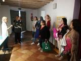 Alumnes del Vendrell visiten la casa pairal d'Àngel Guimerà