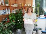 Floristeria Guzmy, amb el Voluntariat per la llengua a Montornès