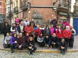 VI Caminada d'Hivern dels alumnes dels Cursos de Català per a Adults i participants del programa del Voluntariat per la llengua de Caldes de Montbui