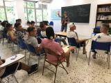 Animació i música a la cloenda dels cursos per a joves de la fundació Intress