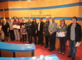 Fotografia dels guanyadors i els membres del jurat.