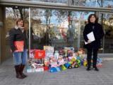 La Delegació d'Horta-Guinardó porta les joguines recollides a la parròquia Nostra Senyora del Carmel