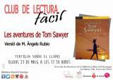 Club de Lectura Fàcil: tertúlia sobre el llibre 'Les aventures de Tom Sawyer'