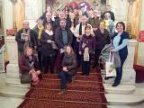 Una colla de voluntaris i aprenents del VxL de Badalona i Sant Adrià van visitar el Gran Teatre del Liceu i posteriorment van fer la Ruta Fabra de Barcelona