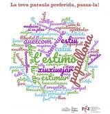 Mapa de les paraules preferides del ciutadans de Castelldefels, Gavà, Sant Boi i Viladecans