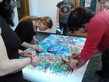 Jam de pintura, taller de creació de personatges i de microcontes a Nou Barris