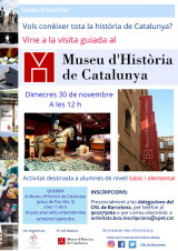 Visita guiada al Museu d'Història de Catalunya