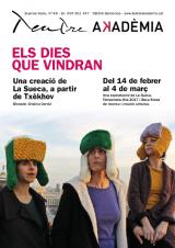 Preu especial per a l'obra 'Els dies que vindran', al Teatre Akadèmia