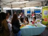 El Voluntariat per la llengua és present a la 7a Mostra d'Entitats Solidàries d'Igualada