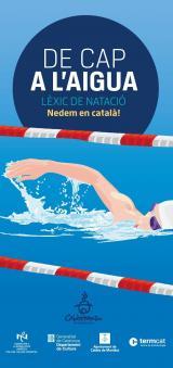 Presentació del lèxic <i>De cap a l'aigua. Lèxic de natació. Nedem en català!</i> a Caldes de Montbui