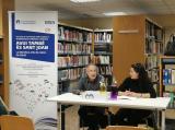 Club de lectura amb Álvar Caixal a la Biblioteca de Montornès