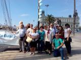 Hem visitat el pailebot Santa Eulàlia i el Museu Marítim