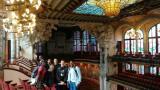 Els alumnes de Sants-Montjuïc, al Palau de la Música.