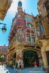 Alumnes de Sant Cugat visiten el Palau de la Música Catalana