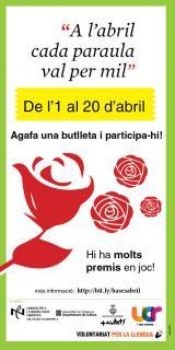 Concurs <em>A l'abril cada paraula val per mil</em> a Ripollet