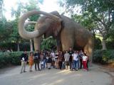 Grup d'alumnes al Parc de la Ciutadella.