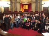 Visita al Parlament de Catalunya amb el Voluntariat per la llengua del Baix Empordà