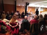 Pau Vidal al club de lectura de la Biblioteca Fort Pienc