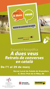 Exposició 'A dues veus. Retrats de converses en català' a Granollers