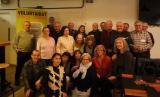 Els assistents a la 5a Trobada de Voluntaris del VxL de Badalona i Sant Adrià