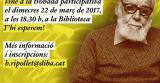 Ripollet celebra el Dia Mundial de la Poesia dedicat a Pere Quart