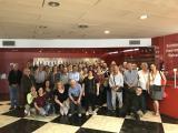El Voluntariat per la llengua del Prat va fer una visita guiada a la fàbrica Damm