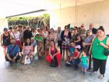 El Voluntariat per la llengua del Prat de Llobregat visita el CRAM