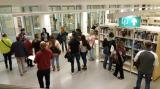 Visita a la biblioteca Esteve Paluzie de Barberà del Vallès