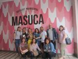 Primeres pràctiques lingüístiques al Mercat de la Masuca d'Igualada