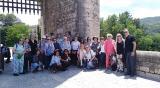 Voluntariat per la llengua exprés en la sortida a Besalú del Servei Local de Català de Sant Just Desvern