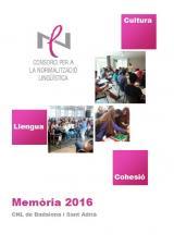 Memòria 2016 i Quadre de comandament del CNL Badalona i Sant Adrià